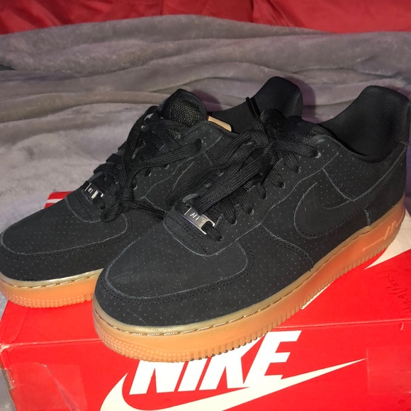 Buy nike air force 1 07 black suede   up to 47% Discounts 184c7bd72f